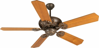 Craftmade K10901 Cordova Aged Bronze Textured Indoor 52 Home Ceiling Fan