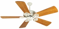 Craftmade K10909 Cordova Antique White Indoor 54 Home Ceiling Fan