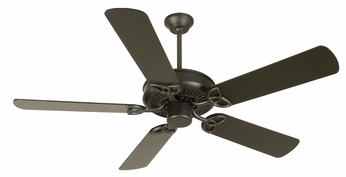 Craftmade K10956 CXL Flat Black Indoor 52  Home Ceiling Fan