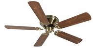 Craftmade K10998 Pro Contemporary Flushmount Antique Brass Indoor 52 Home Ceiling Fan