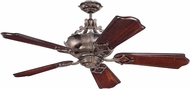 Craftmade K11063 WCraftmade XL Tarnished Silver Indoor 56  Ceiling Fan