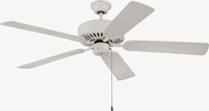 Craftmade K11133 Pro Builder Antique White Indoor 52  Ceiling Fan