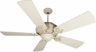 Craftmade K11151 Ophelia Antique White Distressed Indoor 54  Ceiling Fan