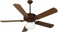 Craftmade K11152 Outdoor Patio Fan Rustic Iron Fluorescent Outdoor 52  Home Ceiling Fan