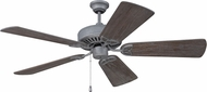 Craftmade K11223 CXL Aged Galvanized Indoor 54 Home Ceiling Fan