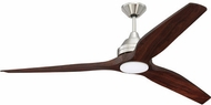 Craftmade K11287 Limerick Contemporary Brushed Polished Nickel LED 60 Home Ceiling Fan