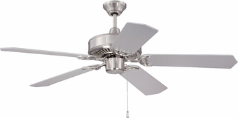 Craftmade K11293 Pro Energy Star Brushed Polished Nickel 52 Home Ceiling Fan