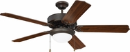 Craftmade K11296 Pro Energy Star 209 Aged Bronze Brushed LED 52 Home Ceiling Fan