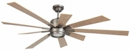 Craftmade KAT72AN9 Katana Modern Antique Nickel LED 72  Ceiling Fan