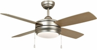 Craftmade LAV44BN4LK-LED Laval Contemporary Brushed Satin Nickel LED 44 Home Ceiling Fan