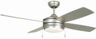 Craftmade LAV52BN4LK-LED Laval Contemporary Brushed Satin Nickel LED 52 Home Ceiling Fan
