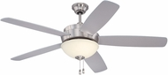 Craftmade LY52BNK5 Layton Brushed Polished Nickel 52 Ceiling Fan