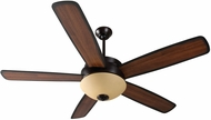 Craftmade LY52OB5 Layton Oiled Bronze Indoor 52 Home Ceiling Fan