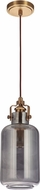 Craftmade P833VB1 Contemporary Vintage Brass Mini Drop Lighting