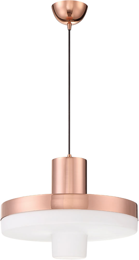 Craftmade P842mrg Led Modern Mirrored Rose Gold Led Hanging Pendant Light Cft P842mrg Led