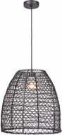 Craftmade P920MBK1 Pendant Contemporary Matte Black Hanging Lamp