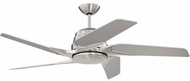 Craftmade SOE54BNK5 Solo Encore Modern Brushed Polished Nickel LED 54  Home Ceiling Fan