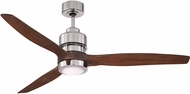 Craftmade SON52CH-60WAL Sonnet Modern Chrome LED 60  Residential Ceiling Fan