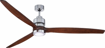 Craftmade SON52CH-70WAL Sonnet Contemporary Chrome LED 70 Residential Ceiling Fan