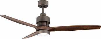 Craftmade SON52ESP-52WAL Sonnet Contemporary Espresso LED 52  Ceiling Fan