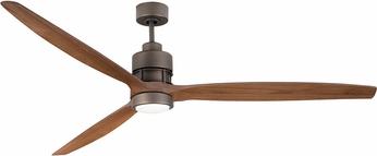 Craftmade SON52ESP-70LOK Sonnet Contemporary Espresso LED 70  Ceiling Fan
