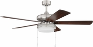 Craftmade STO52BNK5 Stonegate Brushed Polished Nickel Ceiling Fan