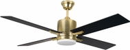 Craftmade TEA52SB4-UCI Teana w/Remote Satin Brass LED Home Ceiling Fan