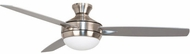 Craftmade TG52BNK3-52BN Targas Modern Brushed Polished Nickel LED 52  Ceiling Fan