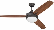 Craftmade TG52ESP3 Targas Modern Espresso LED 52  Home Ceiling Fan