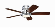 Craftmade TMPH44CH5 Tempo Hugger Modern Chrome LED 44  Ceiling Fan