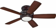Craftmade TMPH44OB5 Tempo Hugger Contemporary Oiled Bronze LED 44  Home Ceiling Fan