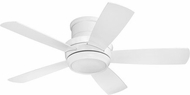 Craftmade TMPH44W5 Tempo Hugger Contemporary White LED 44 Ceiling Fan