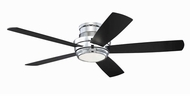 Craftmade TMPH52CH5 Tempo Hugger Modern Chrome LED 52  Ceiling Fan