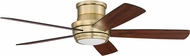 Craftmade TMPH52SB5 Tempo Hugger 52  Satin Brass LED Home Ceiling Fan
