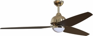 Craftmade TNT58PLN3 Trento Polished Nickel LED 58  Home Ceiling Fan