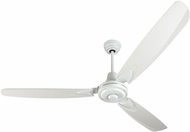 Craftmade VE58W3 Velocity Modern White Indoor 58 Home Ceiling Fan