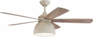 Craftmade VEN52CW5 Ventura Cottage White LED Ceiling Fan