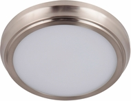 Craftmade X6509-BNK-LED X65 Series Modern Brushed Polished Nickel LED 9  Ceiling Light Fixture