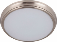 Craftmade X6513-BNK-LED X65 Series Modern Brushed Polished Nickel LED 13  Flush Ceiling Light Fixture