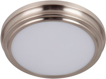 Craftmade X6609-BNK-LED X66 Series Contemporary Brushed Polished Nickel LED 9 Overhead Light Fixture