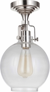 Craftmade X8308-PLN-C State House Modern Polished Nickel Overhead Lighting
