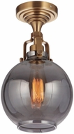 Craftmade X8308-VB State House Contemporary Vintage Brass Ceiling Lighting