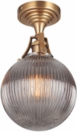 Craftmade X8326-VB State House Contemporary Vintage Brass Ceiling Light Fixture