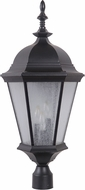Craftmade Z2925-11 Chadwick Traditional Midnight Outdoor Post Lighting