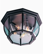 Craftmade Z434-TB Bent Glass Textured Matte Black Exterior 13  Ceiling Light Fixture