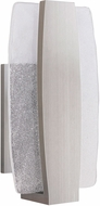 Craftmade Z4612-56-LED Duo Contemporary Stainless Steel LED Exterior Medium Sconce Lighting