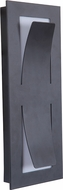 Craftmade Z4802-11-LED Enzo Modern Midnight LED Outdoor Small Light Sconce