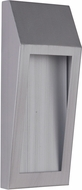 Craftmade Z9302-20-LED Wedge Contemporary Brushed Aluminum LED Outdoor Small Wall Lighting Fixture