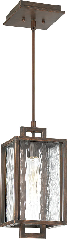 Craftmade Z9801-12 Cubic Contemporary Aged Bronze Brushed Outdoor ...