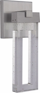 Craftmade ZA1104-SA-LED Cantrell Modern Satin Aluminum LED Outdoor 6  Sconce Lighting